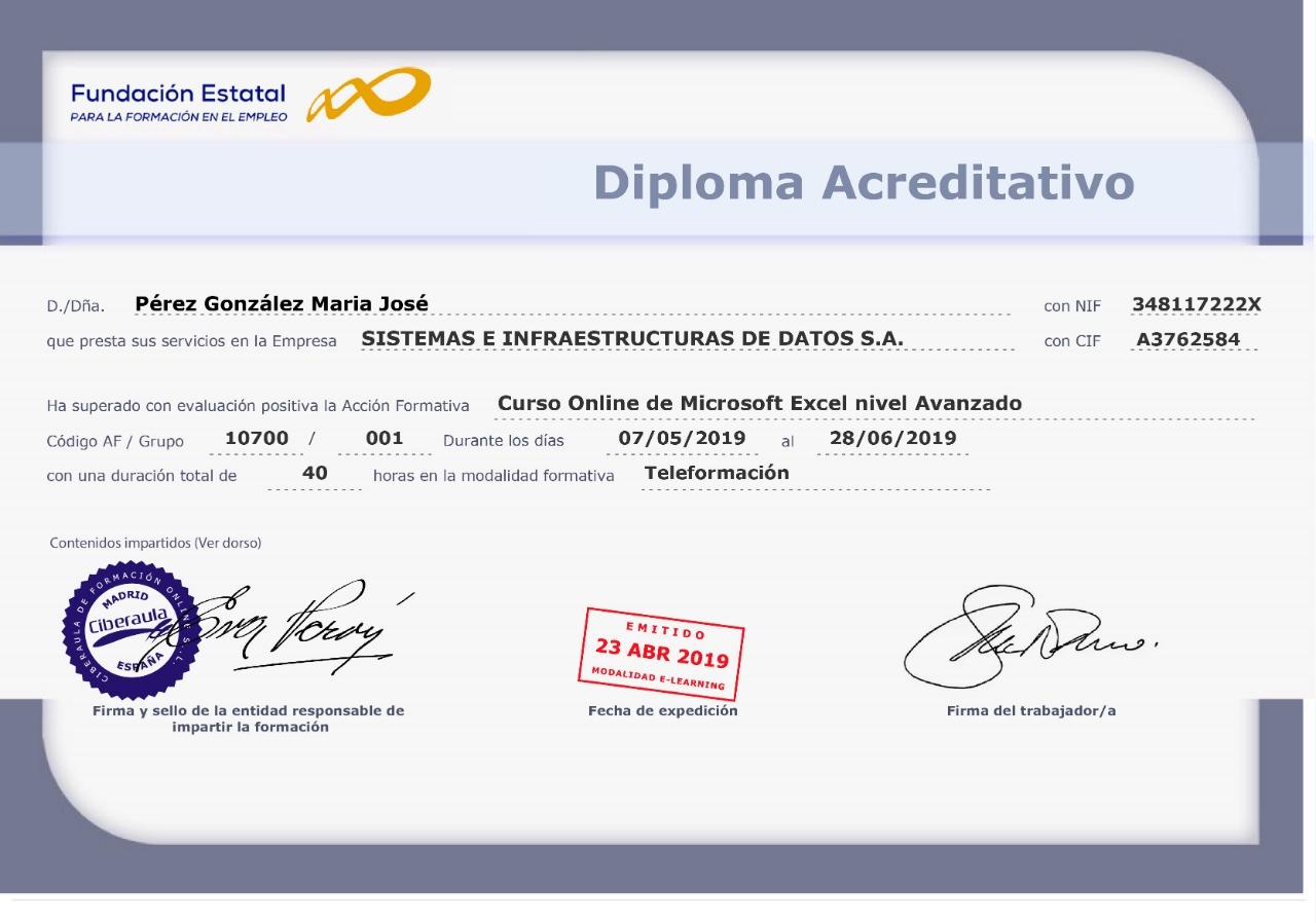 Diploma Acreditación